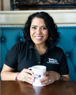 Giset King is an educator, psychologist, advocate and Co- founder of Cafe Azul TX Autism. She works in the community to educate parents to advocate for their kids and equip them with practical strategies to help their kids succeed.